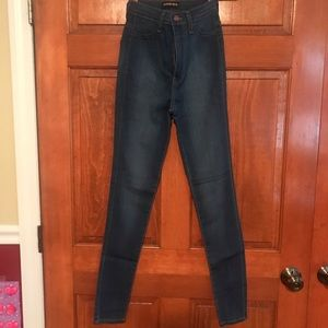 Fashionnova high rise jeans